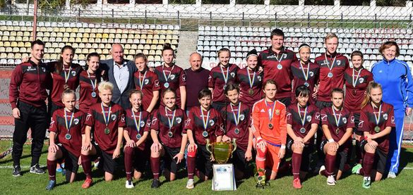 Футболістки з Черкащини стали найсильнішими серед жіночих команд України