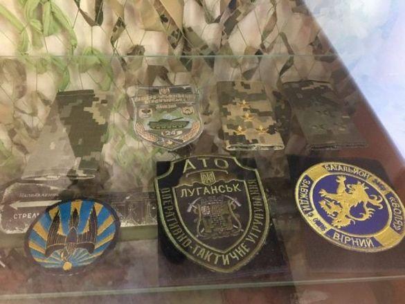 У черкаській школі відкрили кімнату-музей на честь загиблих бійців (ФОТО)
