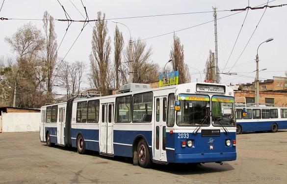 Сьогодні в Черкасах перекриватимуть центр. Тролейбуси змінять свій маршрут
