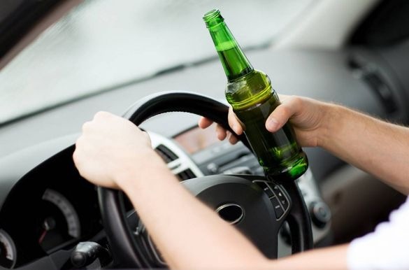П'яний за кермом: скільки черкаських водіїв спіймали нетверезими?