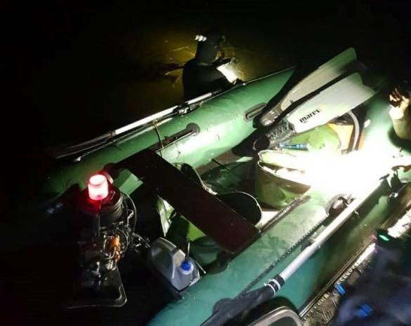 Черкаський рибоохоронний патруль спіймав трьох підводних мисливців (ФОТО)