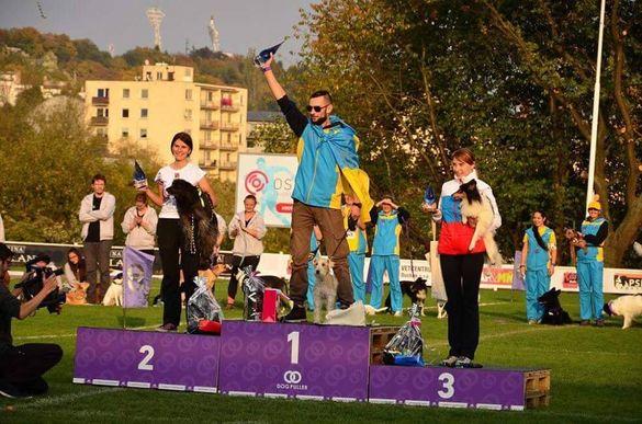 Черкащанин підкорив світовий чемпіонат разом зі своїм улюбленцем