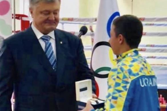 Президент нагородив черкаського гімнаста за здобуття двох олімпійських медалей (ФОТО)