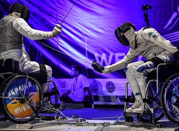 Черкащани увійшли до найсильніших на чемпіонаті України з фехтування на візках