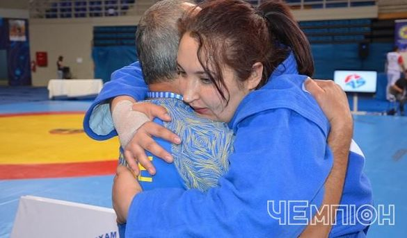 Черкаська дзюдоїстка виборола призову медаль чемпіонату України