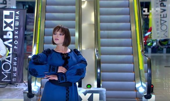 У відомому шоу моделі XL дефілювали в етно-сукнях дизайнерки з Черкас (ФОТО)