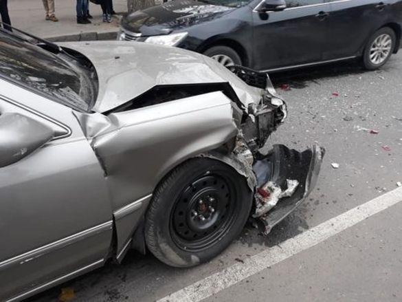Протаранив чотири автівки: на Черкащині сталася ДТП (ФОТО)