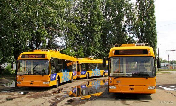 Черкаські тролейбуси тимчасово змінили маршрут
