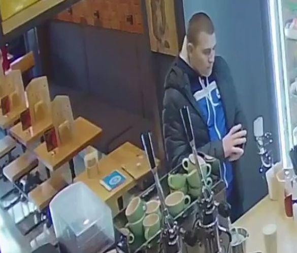 Жителів Черкас просять допомогти знайти крадія (ВІДЕО)
