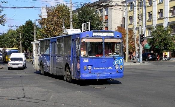 Тролейбуси в Черкасах сьогодні курсуватимуть інакшими маршрутами
