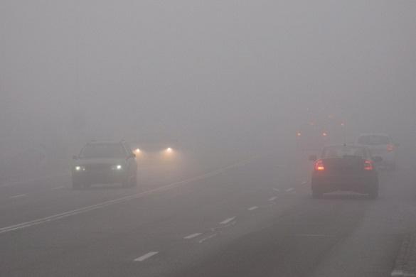 Обережно на дорозі: черкаських водіїв попереджають про туман