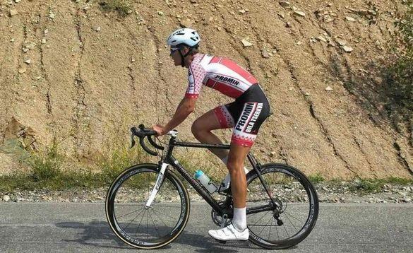 Велосипедист із Черкащини увійшов до десятки найсильніших спортсменів країни