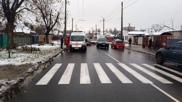 У Черкасах водій збив пішохода (ФОТО)