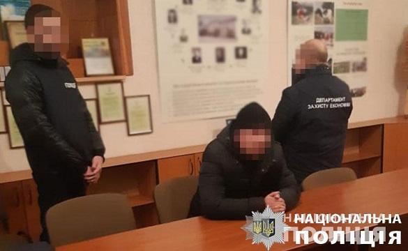 На Черкащині викрили посадовця під час отримання хабара (ФОТО)