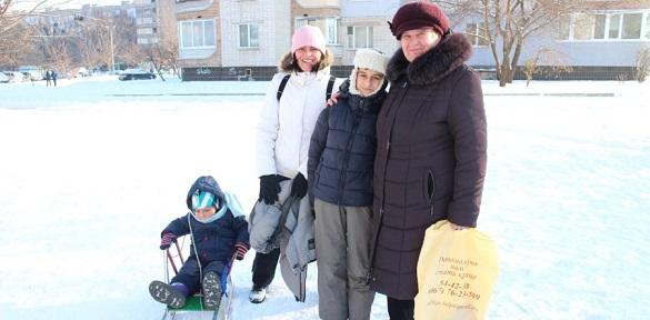 Як черкащани радіють сніжній погоді та першим морозам (ВІДЕО)