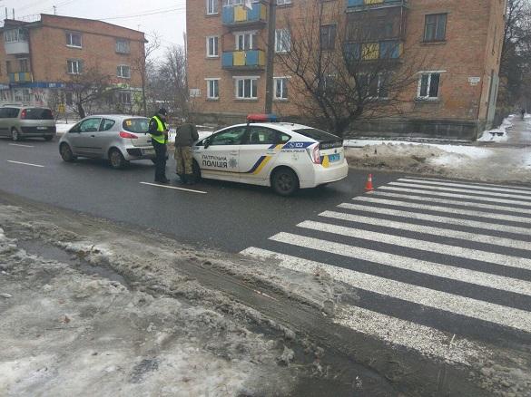 У Черкасах збили людину на пішохідному переході