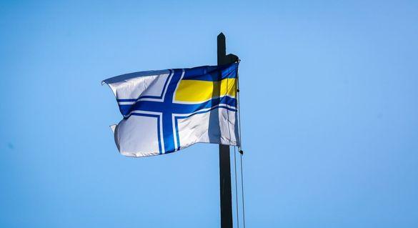 У центрі Черкас замайоріє прапор на знак підтримки полонених моряків