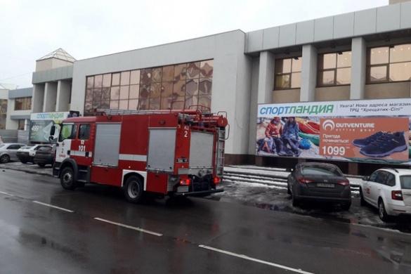 Із торгового центру в Черкасах евакуйовували людей