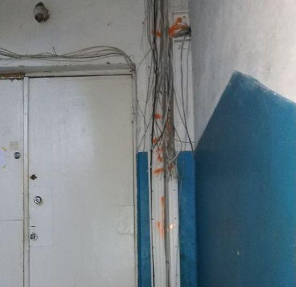 Через вандалів: один із черкаських будинків залишився без інтернету