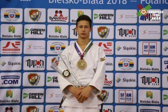 Черкаський дзюдоїст став кращим спортсменом місяця