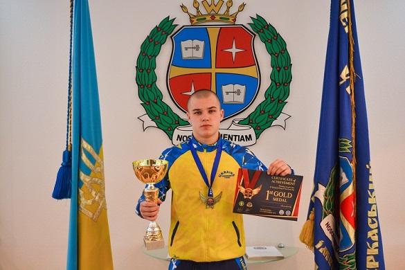 Черкаський спортсмен підкорив чемпіонат Греції