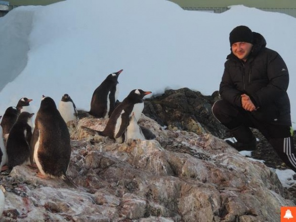 Черкащанин вже рік живе на полярній станції в Антарктиді