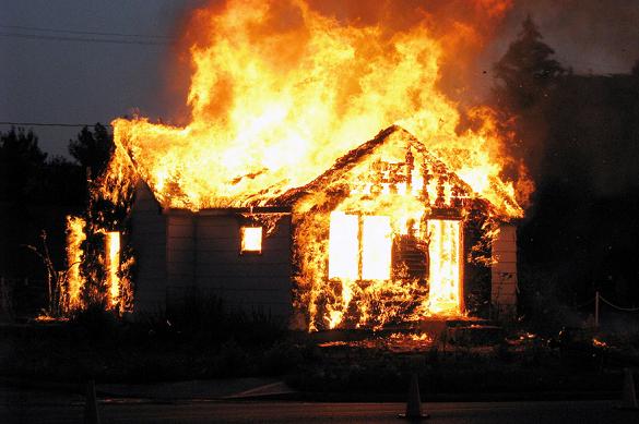 На Черкащині під час пожежі загинув чоловік