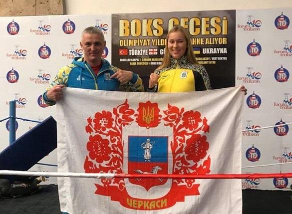 Черкаська боксерка отримала титул кращої спортсменки грудня в області