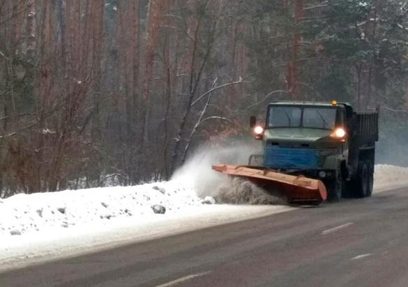 Дорожники заявили, що готові до погіршення погодних умов на Черкащині