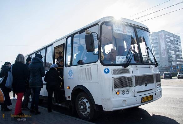 Учасники війни просять частково змінити популярний автобусний маршрут у Черкасах