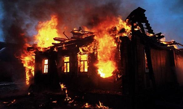 У Монастирищенському районі виникла пожежа, під час якої загинув чоловік (ВІДЕО)