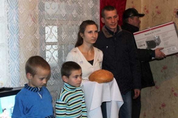 На Черкащині родина учасника АТО отримала ключі від власного житла