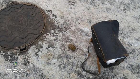 У Черкасах встановили особу, що розгулювала містом з гранатою