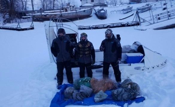 На Черкащині протягом тижня рибоохоронці вилучили 213 кг незаконної риби