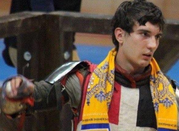 Черкащанин переміг на чемпіонаті України з історичного середньовічного бою