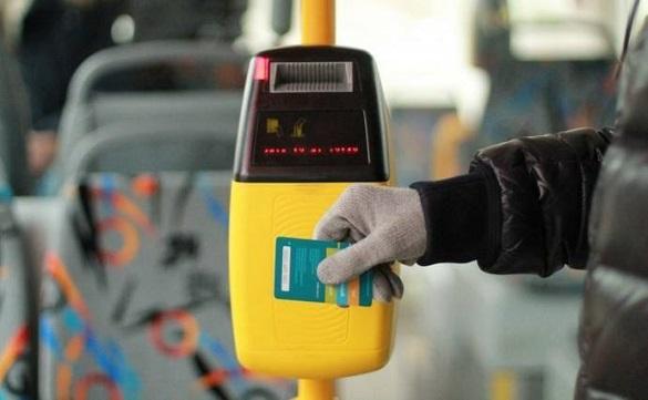 У Черкасах збираються запровадити електронну оплату за проїзд у громадському транспорті