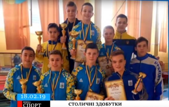 Юні черкаські гімнасти привезли з чемпіонату Києва шість нагород (ВІДЕО)