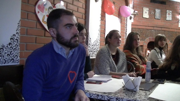 Волонтер Корпусу Миру проходить службу у Смілі