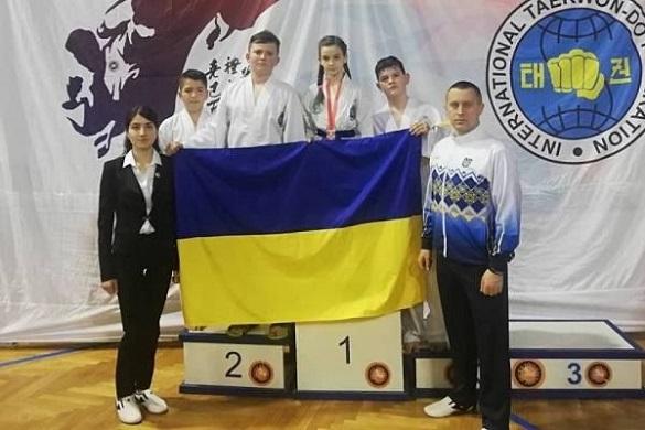 Черкаські спортсмени вибороли першість на міжнародному турнірі з Таеквон-До