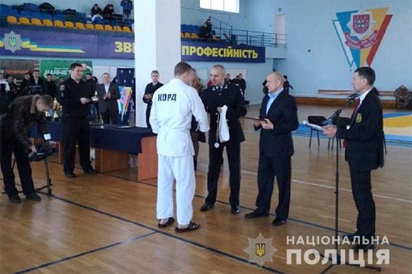 Поліцейський з Черкас виборов першість на чемпіонаті Нацполіцї з рукопашного бою
