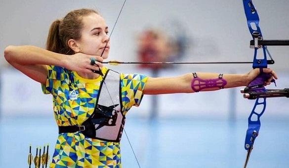 Черкаська лучниця виборола срібло на чемпіонаті Європи