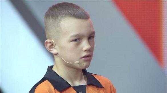 Юний хлопчик-калькулятор з Черкащини вразив суддів проекту