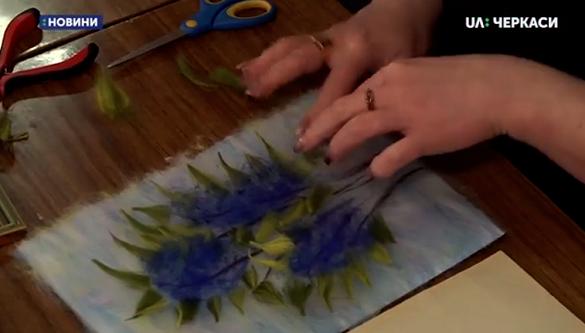 Черкасці вчилися малювати