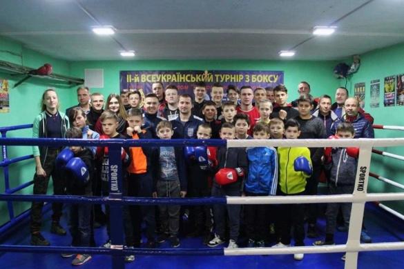 Завдяки ініційованій свободівцями програмі бокс розвивають по всій Черкащині