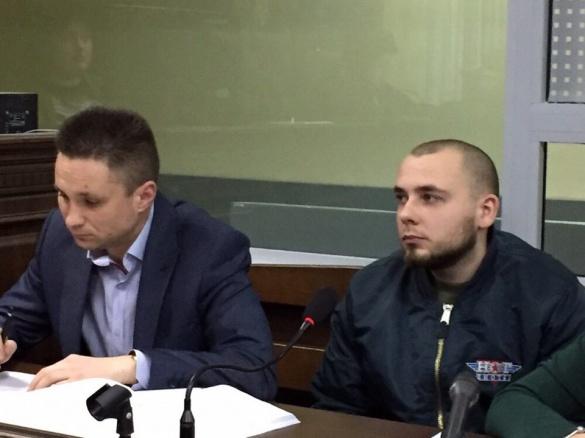 Одного із черкаських нацкорпусівців суд відпустив під домашній арешт