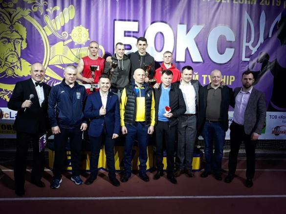 Троє черкаських боксерів стали переможцями престижного турніру