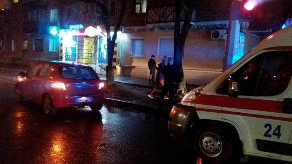 На черкаському перехресті водійка збила пішохода