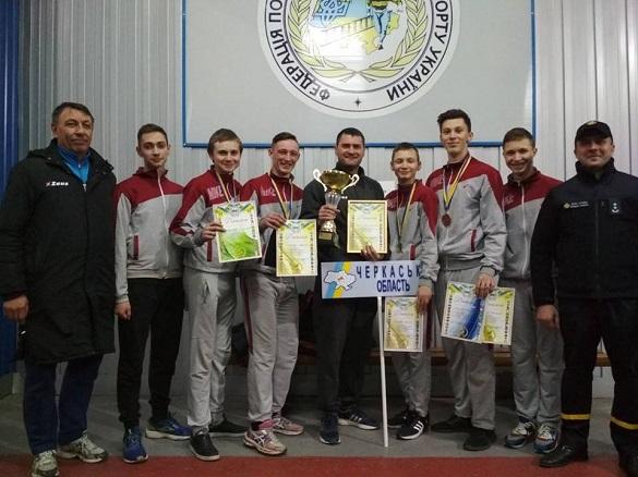 Юні пожежники з Черкащини отримали нагороди у всеукраїнському чемпіонаті