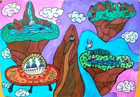 У Черкасах визначили переможців конкурсу дитячих малюнків