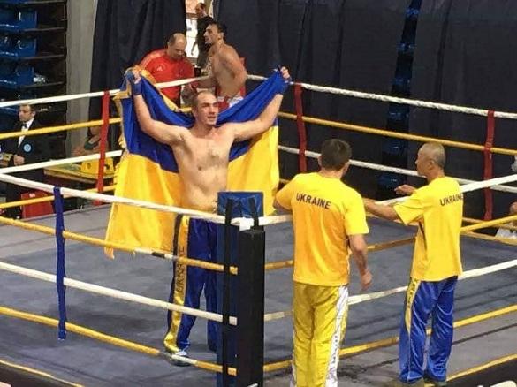 Черкащанин переміг на чемпіонаті України з кікбоксингу